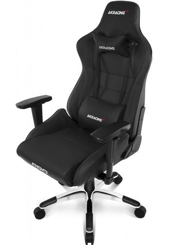 AKRACING, Gaming Chair Master Pro - PU Leather Black Main Image
