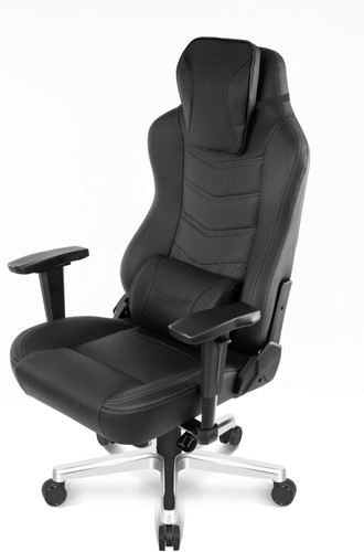 AKRACING, Gaming Chair Office Deluxe - PU Onyx / Black Main Image
