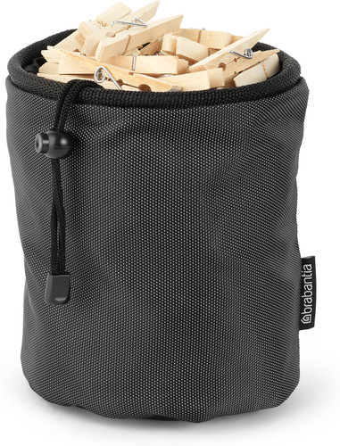 Brabantia clothespin bag (Black) Main Image