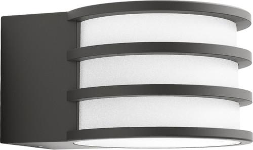Philips hue lucca applique blanc extérieur coolblue avant