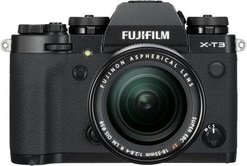 Fujifilm X-T3 Zwart + XF 18-55mm f/2.8-4.0 R LM OIS Main Image