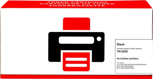 Pixeljet TN-2220 Toner Noir XL pour imprimantes Brother (TN-2220) Main Image