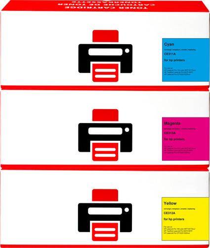 Pixeljet 126A Toner 3 Couleurs pour imprimantes HP (CF341A) Main Image