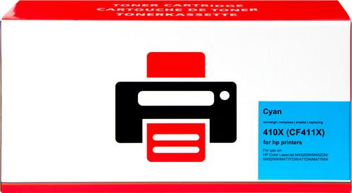 Pixeljet 410X Toner Cyan XL pour imprimantes HP (CF411X) Main Image