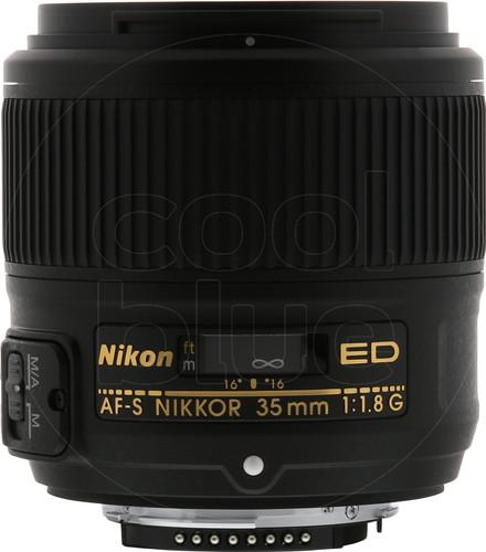 Nikon AF-S 35 mm f/1.8G ED Main Image