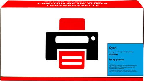 Pixeljet 507A Toner Cyan pour imprimantes HP (CE401A) Main Image