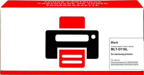 Pixeljet MLT-D116L Toner Noir XL pour imprimantes Samsung Main Image