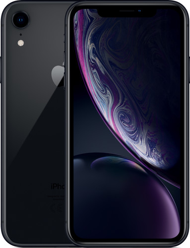 Apple iPhone Xr 64 GB Zwart Main Image