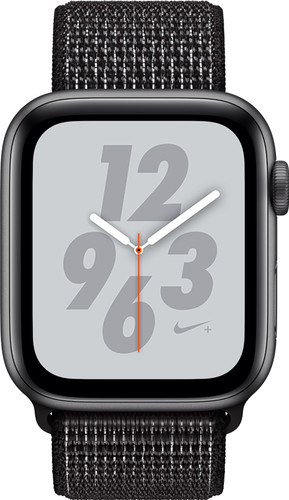 Apple Watch Series 4 40mm Nike+ Space Gray Aluminium/Nylon Sportband Main Image