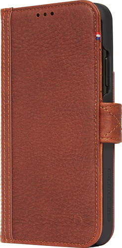 best website bfb92 912a6 Decoded Leather Card Wallet Apple iPhone Xs Max Book Case Brown