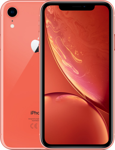 Apple iPhone Xr 256 GB Koraal Main Image