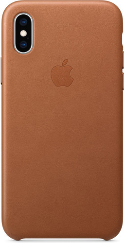 iphone xs max leather case apple
