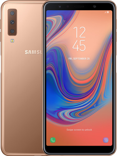 Samsung Galaxy A7 (2018) Gold Main Image