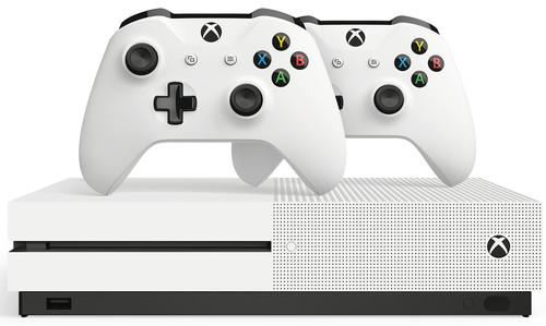 Microsoft Xbox One S 1 To + 2e Manette Main Image