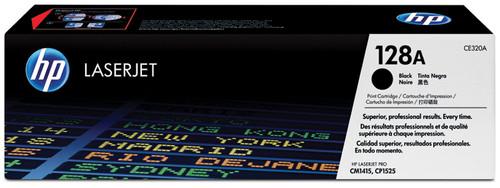 HP 128A LaserJet Toner Noir (CE320A) Main Image
