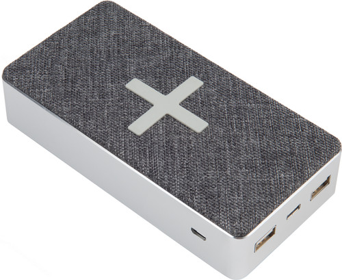 Xtorm Powerbank Wireless QI 16.000 mAh Motion Grijs Main Image