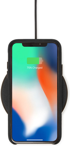 Decoded Leather Wireless Fast Charger Zwart Main Image