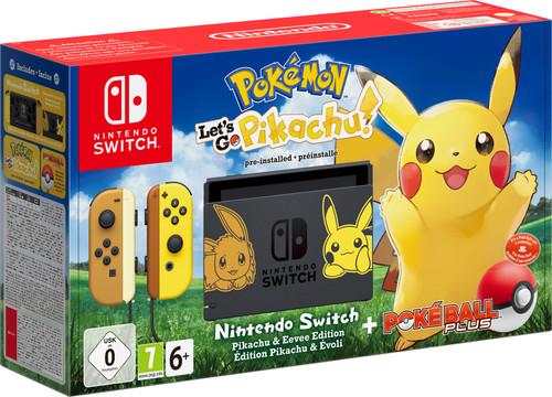 Nintendo Switch Pokemon Let's Go Pikachu Bundel Main Image