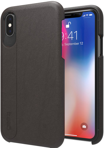 the best attitude 228ce db8ab GEAR4 D3O Knightsbridge Apple iPhone X Back Cover Black
