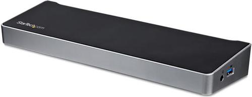 StarTech Station d'accueil USB Type-C à trois écrans 4K avec une puissance de charge de 60 Main Image
