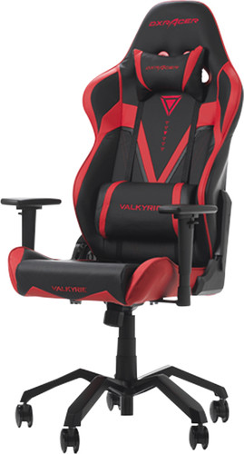 DXRacer Valkyrie Gaming Chair Black/Red Main Image