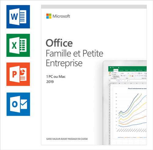 Microsoft Office 2019 Thuisgebruik en Zelfstandigen FR Main Image