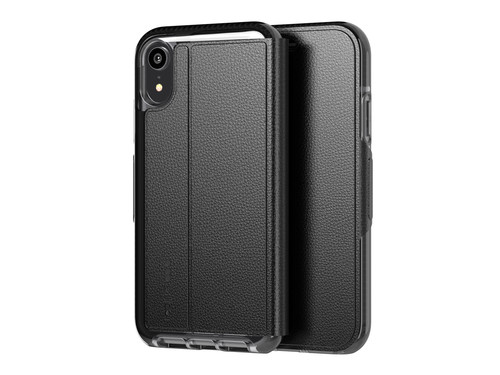 new products c8cf7 08e6a Tech21 Evo Wallet Apple iPhone XR Book Case Black