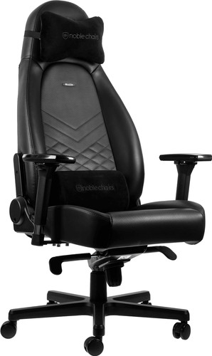 Noblechairs ICON Gaming Stoel Zwart Main Image