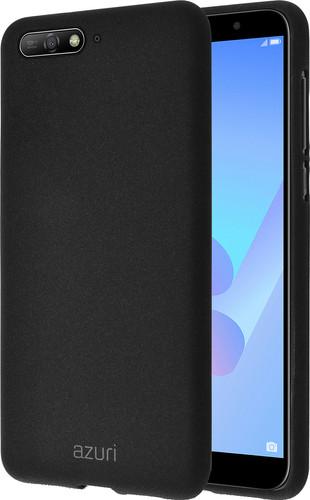 finest selection 0d949 da8a3 Azuri Flexible Sand Huawei Y6 (2018) Back Cover Black
