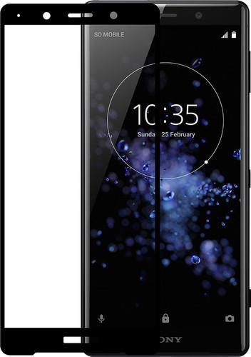 Azuri Protège-écran en Verre trempé pour Sony Xperia XZ2 Premium Noir Main Image