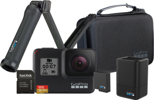GoPro HERO 7 Black - Travelkit Main Image