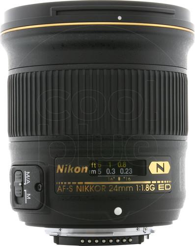 Nikon AF-S Nikkor 24mm f/1.8G ED Main Image