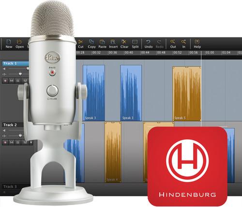 Blue Yeti Podcaster Bundle + Hindenburg Journalist Software Main Image