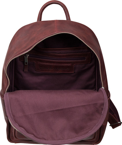 0e7c1ed6858 Cowboysbag Backpack Mason 15 Inch Burgundy - Coolblue - Voor 23.59u ...