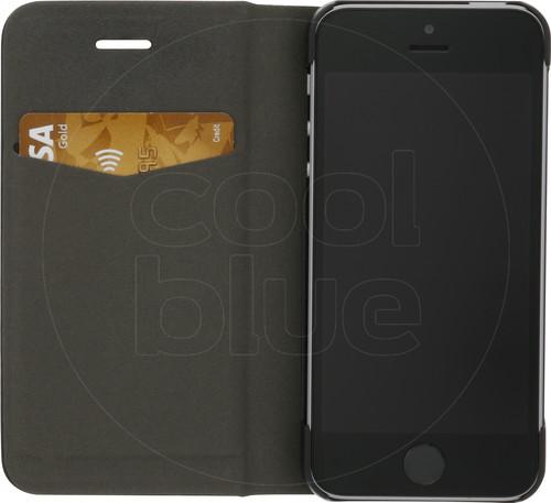Azuri Booklet Ultra Thin Apple iPhone 5/5s/SE Book Case Zwart Main Image