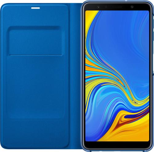 quality design c12bd bc5fc Samsung Galaxy A7 (2018) Wallet Book Case Blue