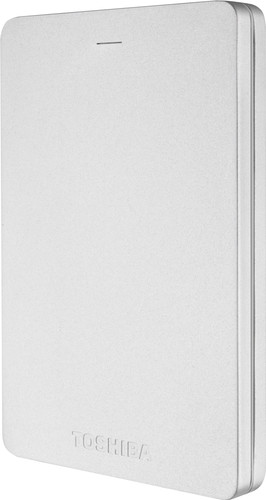 Toshiba Canvio ALU 2 TB Zilver Main Image