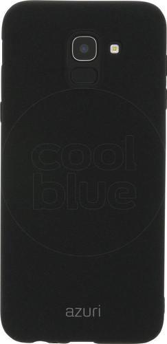 the best attitude 7d530 88741 Azuri Flexible Sand Samsung Galaxy J6 (2018) Back Cover Black