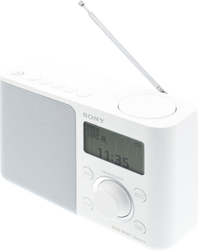 Sony XDR-S61D White Main Image