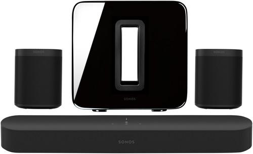 Sonos Beam 5.1 + One (x2) + Sub Zwart Main Image