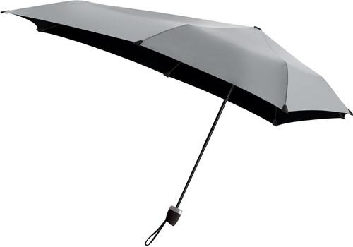 code promo c9a2f 9ec9e Senz° Manual Parapluie tempête Shiny Silver
