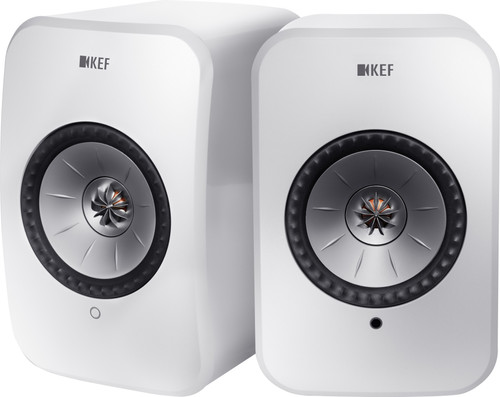 KEF LSX Wireless Stereo System White Main Image