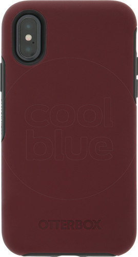 wholesale dealer de670 9ea02 Otterbox Symmetry Apple iPhone X Back Cover Red