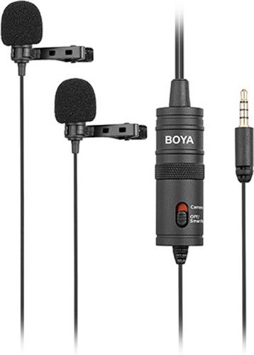 Boya BY-M1DM Duo Lavalier Microphone Main Image