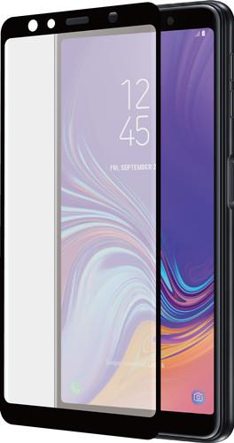 Azuri Protège-écran Incurvé Verre trempé Samsung Galaxy A7 (2018) Verre Noir Main Image