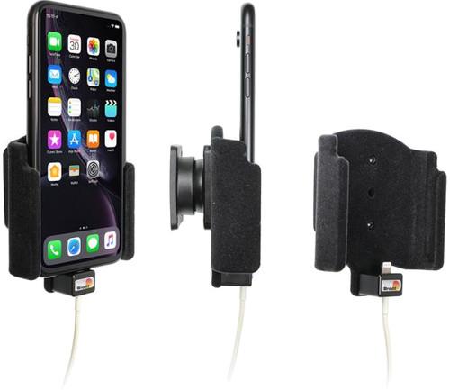 Brodit Padded Apple iPhone Xr Support Voiture avec Chargeur Main Image