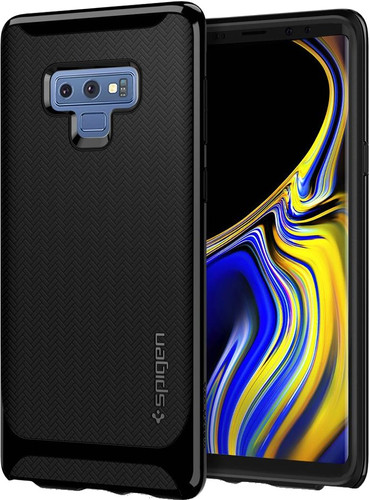 best service f3cd4 2e448 Spigen Neo Hybrid Samsung Galaxy Note 9 Back Cover Black