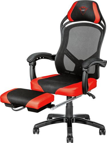 Pleasant Trust Gxt 706 Rona Chaise Gamer Avec Repose Pieds Noir Rouge Lamtechconsult Wood Chair Design Ideas Lamtechconsultcom
