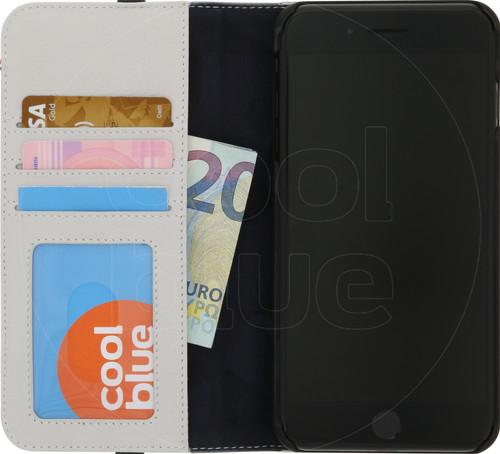 size 40 879ce dea0f Decoded Leather Wallet Apple iPhone 6 Plus/6s Plus/7 Plus/8 Plus Book Case  White