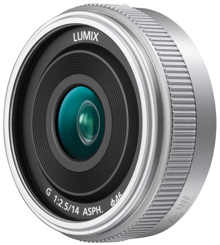 Panasonic Lumix G 14 mm f/2.5 II ASPH. Argent Main Image